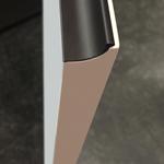 фасады с фрезерованными торцами или краями, которые формируют удобную выемку/скос,